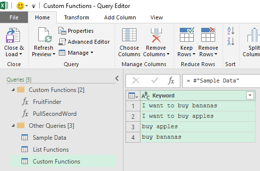 Custom Power Query Functions for Beginners – Excel In PPC