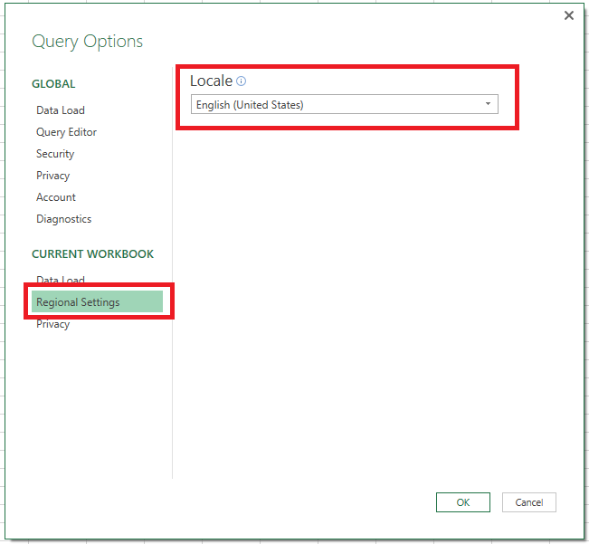 Recommended Power Query Settings – Excel In PPC