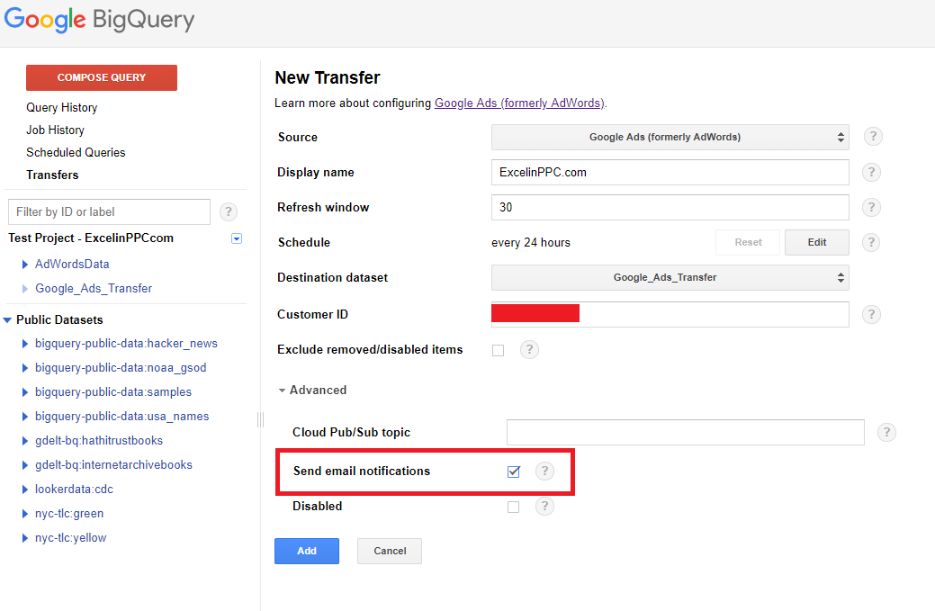 Google BigQuery: Automation Powerhouse for Google Ads – Excel In PPC