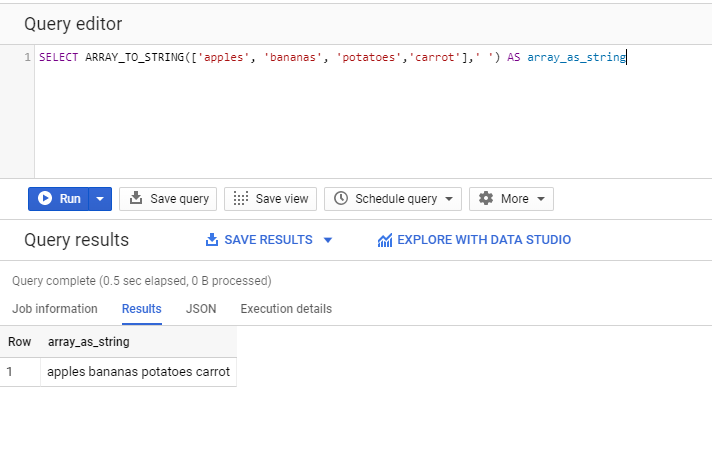 Working with Arrays in BigQuery SQL to Manipulate Text