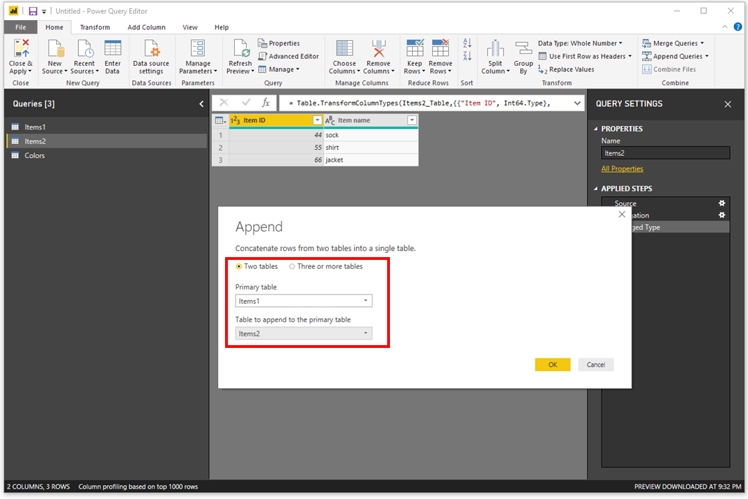 Merge vs Append in Power BI - 8 - Append Queries as New.png