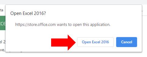 4 - Supermetrics for Excel - Approve Chrome