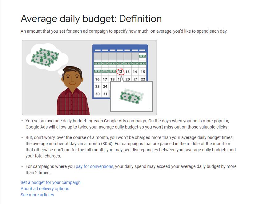Google Ads Budgets